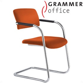 Grammer Office Match Microfibre Cantilever Chair £180 -