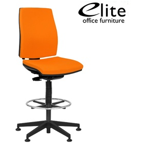 Elite Match Upholstered Draughtsman Chair £300 -