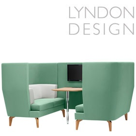 Lyndon Design Entente 2 Seater High Back Booth £5959 -