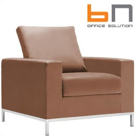 BN Concerto Leather Reception Armchair £790 -