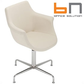 BN Kaika Faux Leather Swivel Conference Chair £454 -