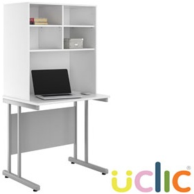 NEXT DAY Create Kaleidoscope Desks With Open Storage