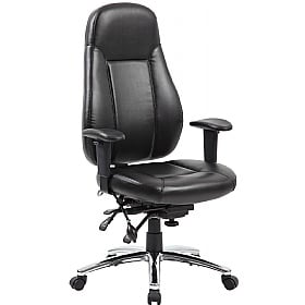 Beta 24 Hour Leather Task Chair £213 -