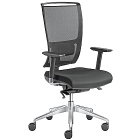 Lyra Net Fabric & Mesh Operator Chair £356 -