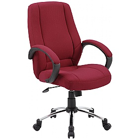 Comfort Fabric Manager Chair £85 -