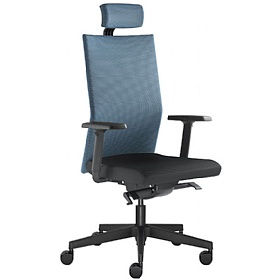 Omega Fabric & Mesh Executive Chair £390 -