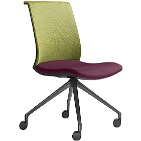 Omega Fabric & Mesh Mobile Conference Chair £316 -