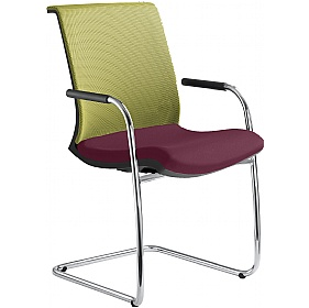 Omega Fabric & Mesh Cantilever Conference Chair £327 -