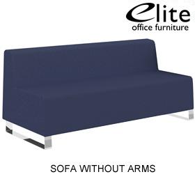 Elite Ella 3 Seater Modular Reception Sofas