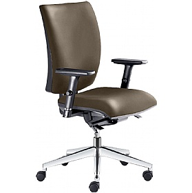 Lyra Faux Leather Operator Chair £254 -