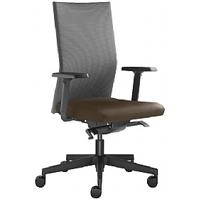 Omega Leather & Mesh Operator Chair £337 -
