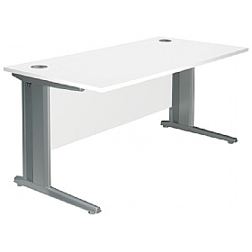NEXT DAY Polar Cantilever Rectangular Systems Desks