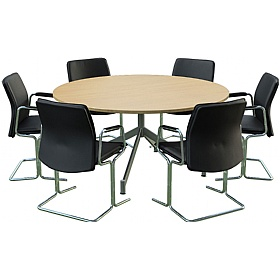 Sven Ambus Circular V-Base Meeting Tables £511 -