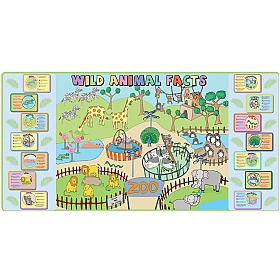 Zoo Mural With Animal Facts £0 -