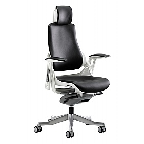 Jett Enviro Leather Task Chair With Headrest £411 -