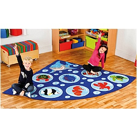 Under The Sea Corner Carpet £0 -