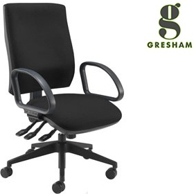 Gresham Platinum Plus Squared Medium Back Office Chair £255 -
