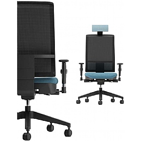 Gresham G Series Mesh Back Task Chairs With Headrest