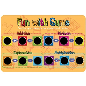 Fun With Sums Chalkboard £0 -
