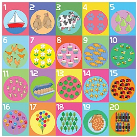 Counting To Twenty Sign £0 -