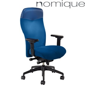 Nomique Am:Pm Extra High Back Office Chairs With Headrest £534 -