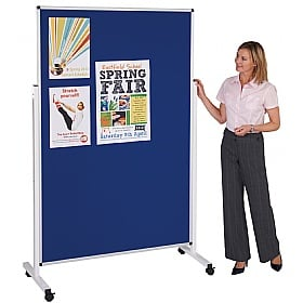 Double Sided Mobile Pinboard Display Screen £165 -