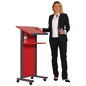 Coloured Panel Front Lectern £239 -