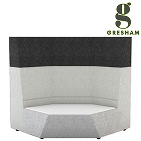 Gresham Take Up 2 Tier Corner Unit With Table £1834 -