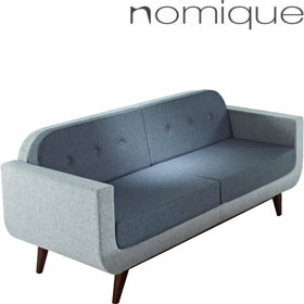 Nomique Coco 2 Seater Reception Sofas With Arms