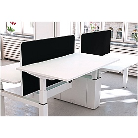 Accolade Sit-Stand Back to Back Inset Desktop Screens £200 -