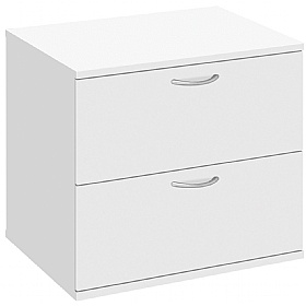 Commerce II White Desk High Side Filer £208 -