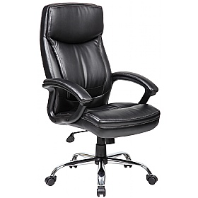 Modena High Back Leather Manager Chairs £102 -