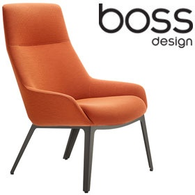 Boss Design Marnie High Back Lounge Chair