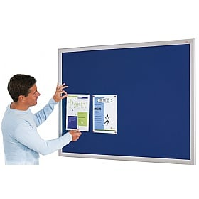 Eco-Friendly Aluminium Effect Frame Noticeboards £28 -