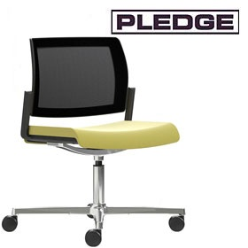 Pledge Kind Mesh Back Swivel Conference Chair £251 -