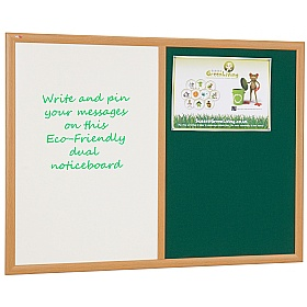 Eco-Friendly Dual Noticeboards £45 -