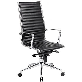 Abbey High Back Leather Office Chairs £164 -