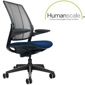 Humanscale Diffrient Smart Task Chair £610 -