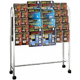 Literature Trolley 40 x Third A4 and 16 x A4 Pockets £194 -