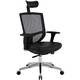 Eve 24/7 Ergonomic Mesh and Leather Task Chair £209 -