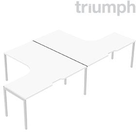 Triumph Metrix Bench 2 Person Back To Back Cluster £683 -