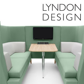 Lyndon Design Entente Single Seat Booth £4665 -