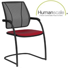 Humanscale Diffrient Occasional Liberty Visitor Chair £294 -
