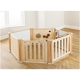 PlayScapes Toddler Play Enclosure 6 Panel Set £0 -