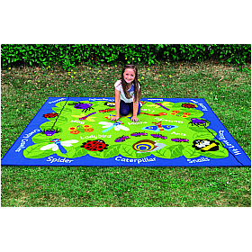 Back to Nature Mini Beast Outdoor Play Mat