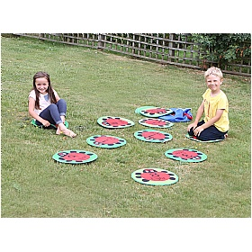 Back to Nature Counting Ladybird Outdoor Play Mats