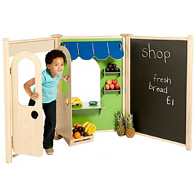 PlayScapes Shop Role Play Panel Set £0 -