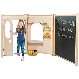 PlayScapes Maple Role Play Panel Shop Set £0 -