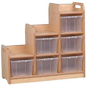 PlayScapes Stepped Storage Unit £0 -
