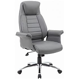 Office Chairs.Jersey Executive Leather Faced Office Chairs